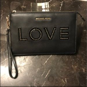 Micheal Kors Medium Wristlet